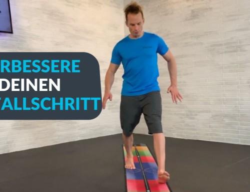 Ausfallschritte mit dem Twister-Prinzip der PATmat