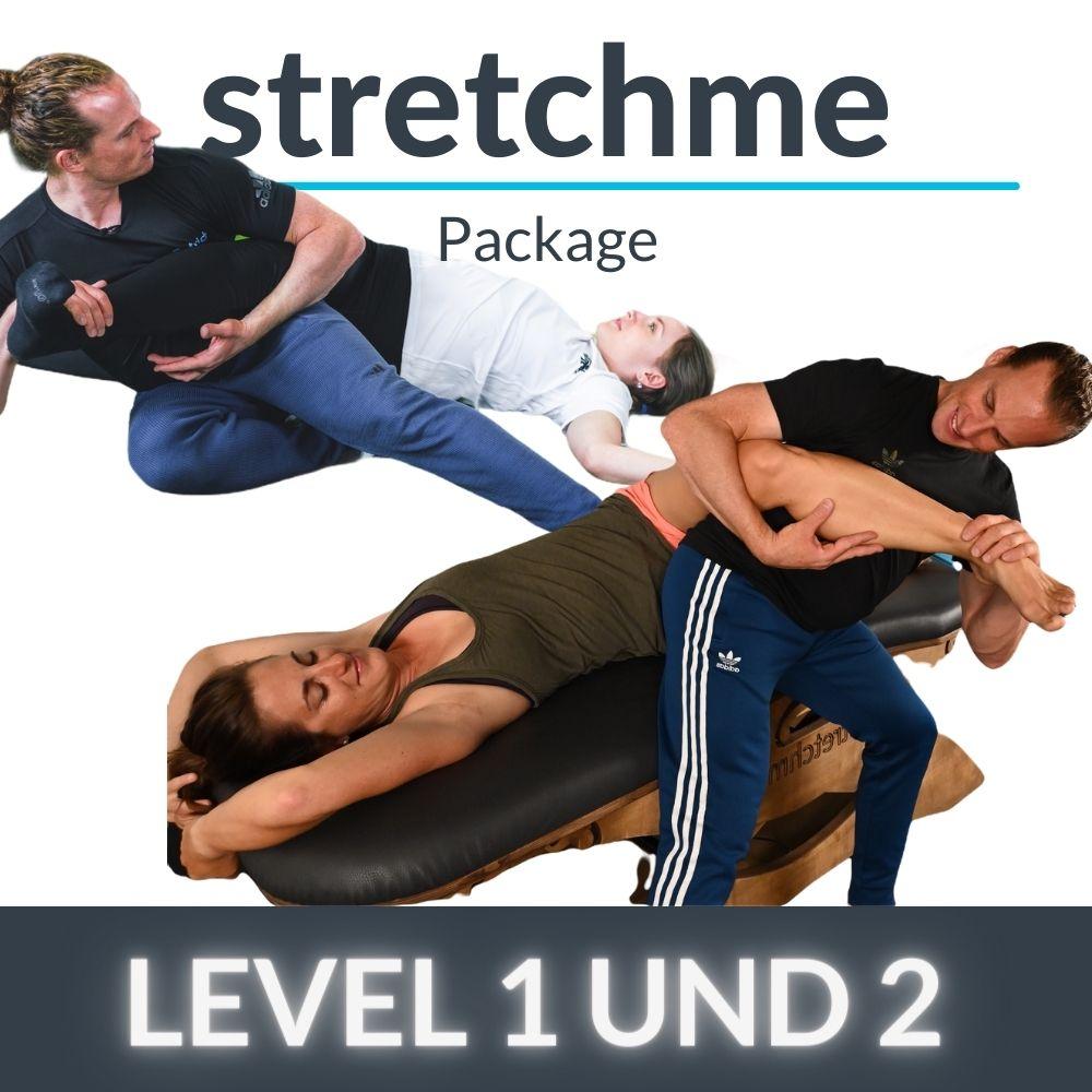 stretchme Level 1, 2 + PATmat Starter